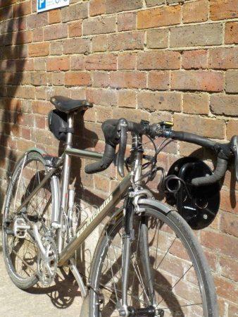 bike parking area at Prestwood Coop