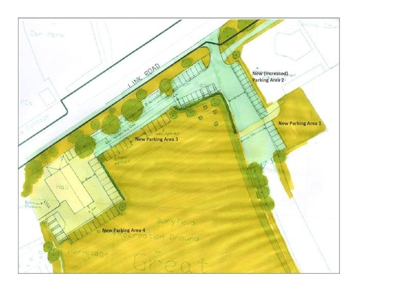 GMPRG parking proposals for Buryfield